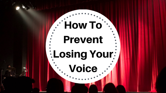 image how to prevent losing your  voice