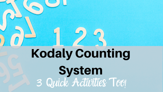 image kodaly counting system