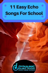 image 11 easy echo songs for school pin