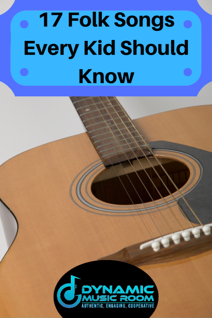 image 17 folk songs every kid should know pin