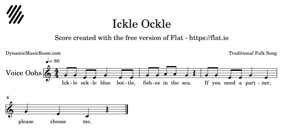 image ickle ockle notation