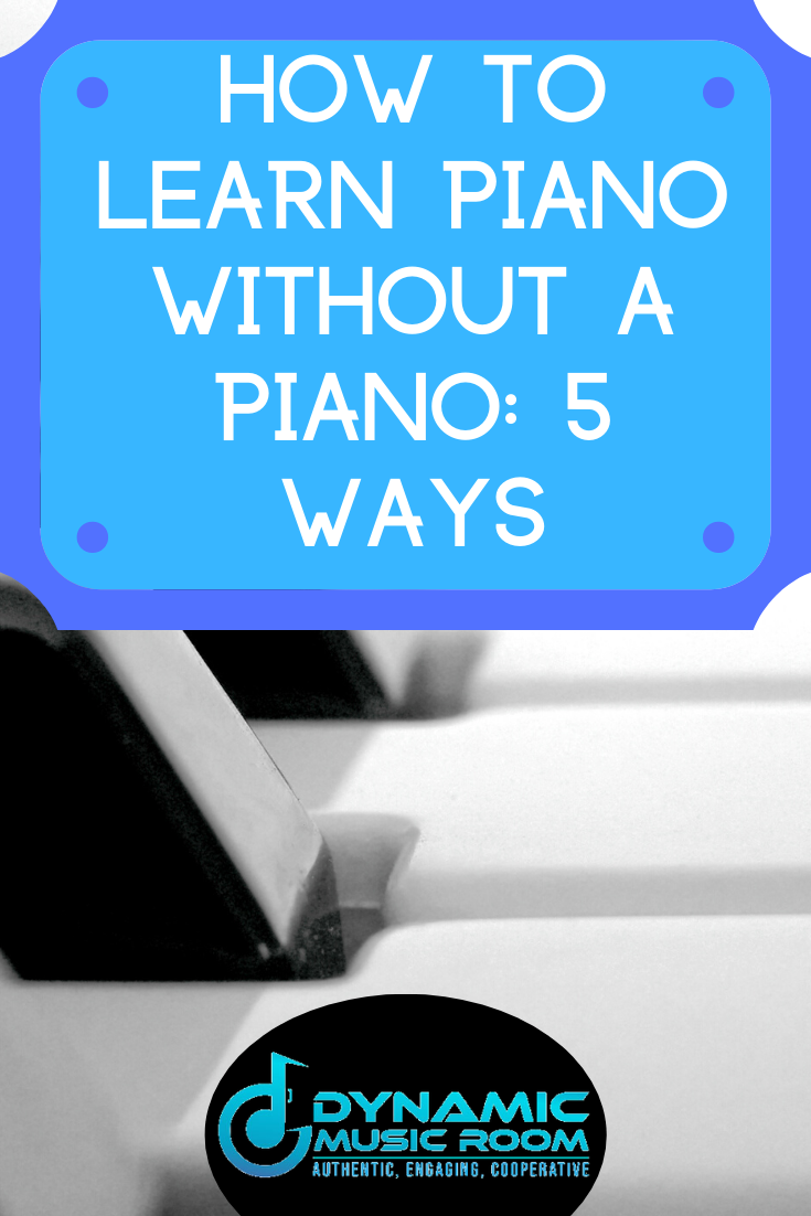 image how to learn piano without a piano pin