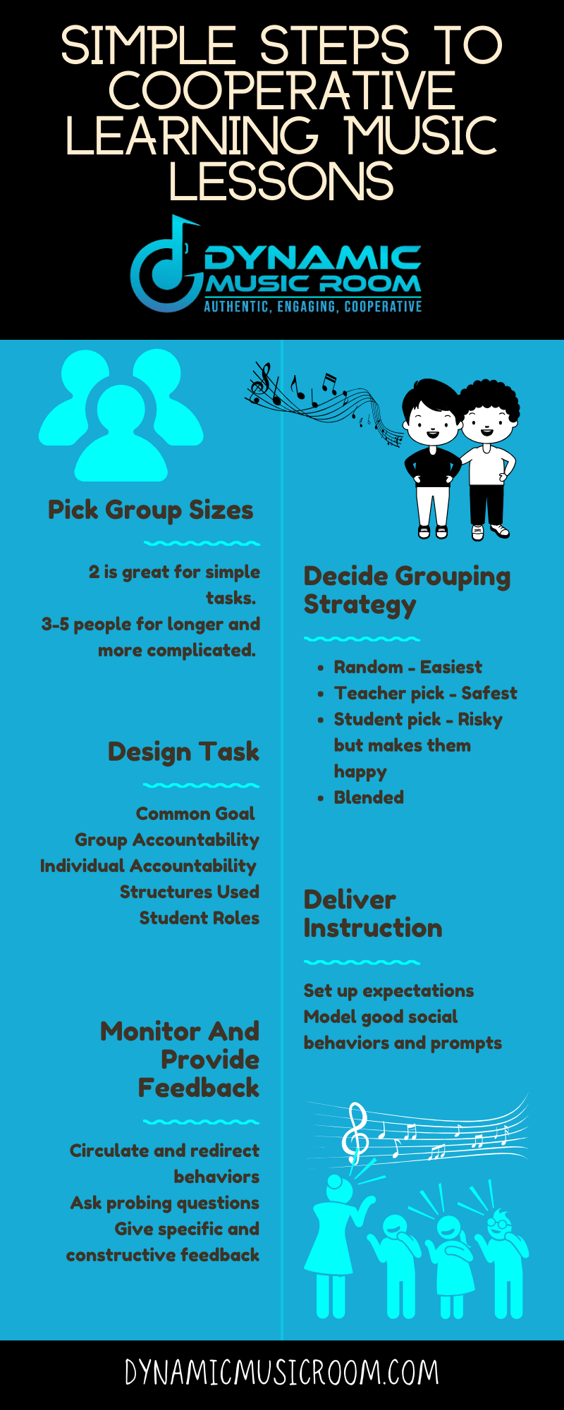 image simple steps to cooperative learning music lessons info