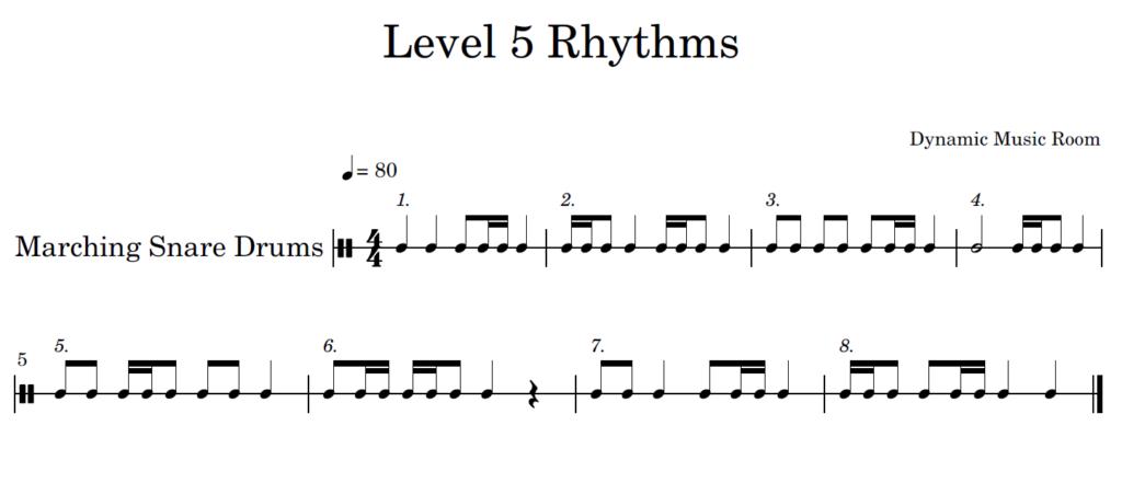 rhythms 5