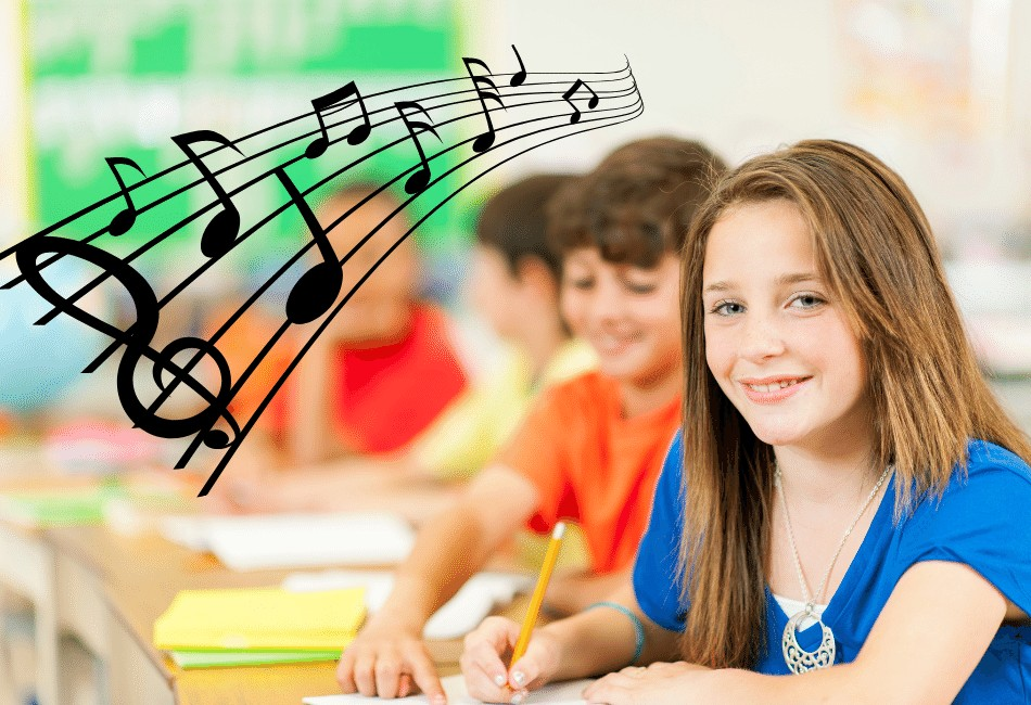music activities for middle school banner